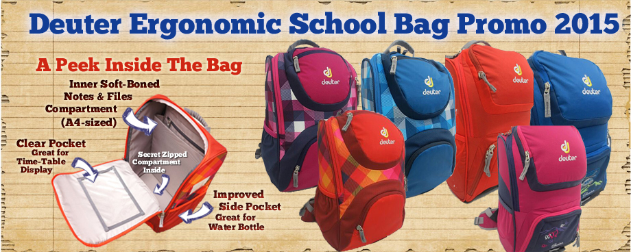 Deuter Ergonomic School Bag 2015 Promo