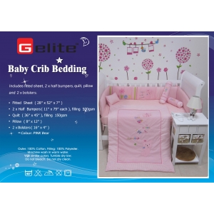 Gelite Bedding - Pink Bear
