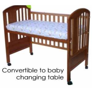 Covertible to baby changing table